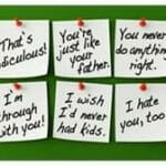 things you should never never say to your children