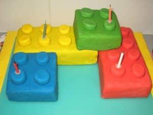 Gâteau Lego géant recette - 2houses