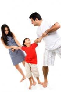 custody of the children - 2houses