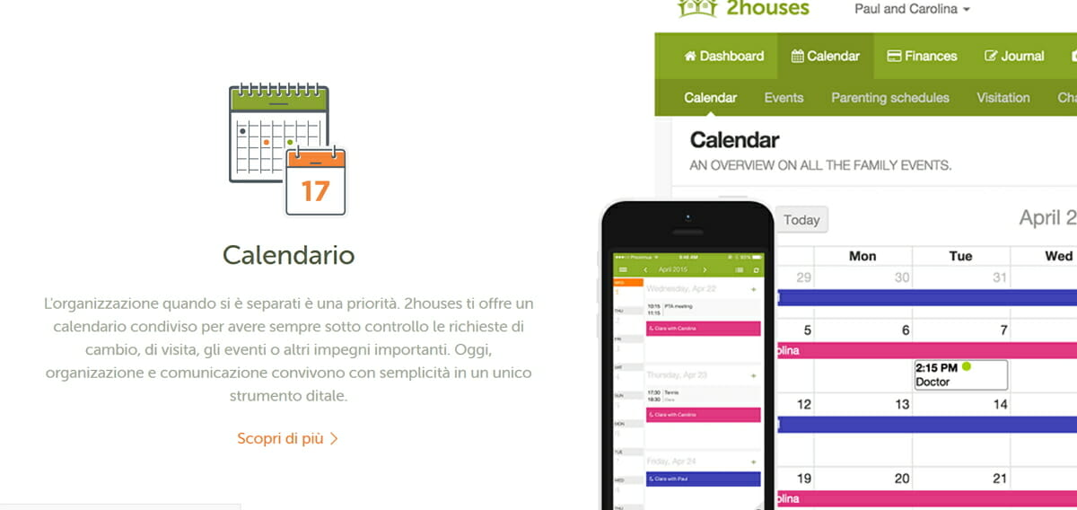 Esempio Calendario Affidamento Condiviso.Blog