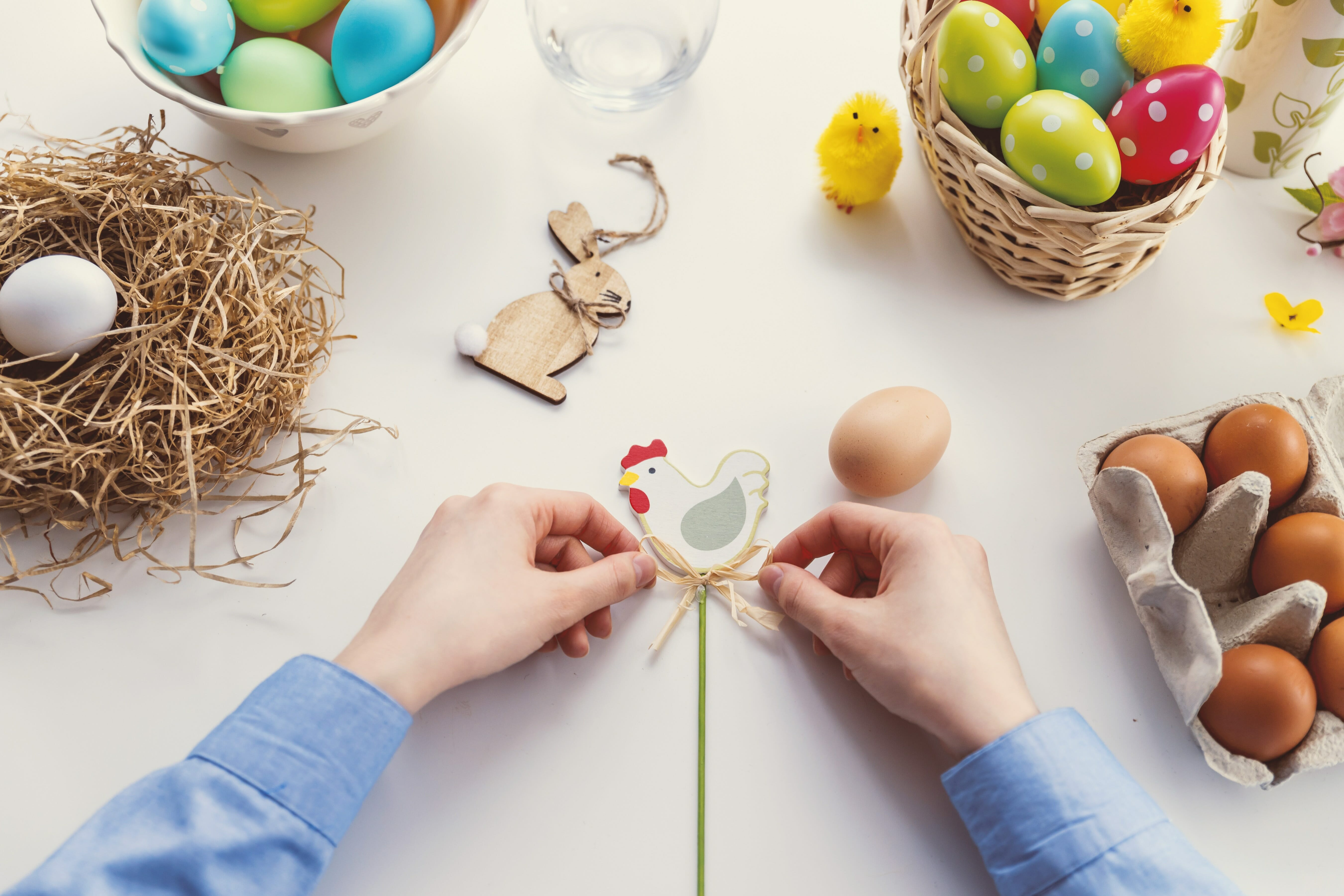 Easter with kids