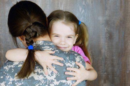 coparenting in military families