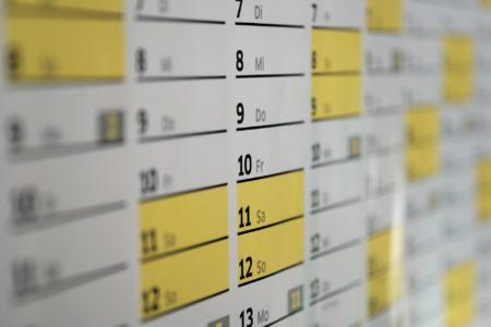 Création d'un calendrier 2-2-3 : le guide complet