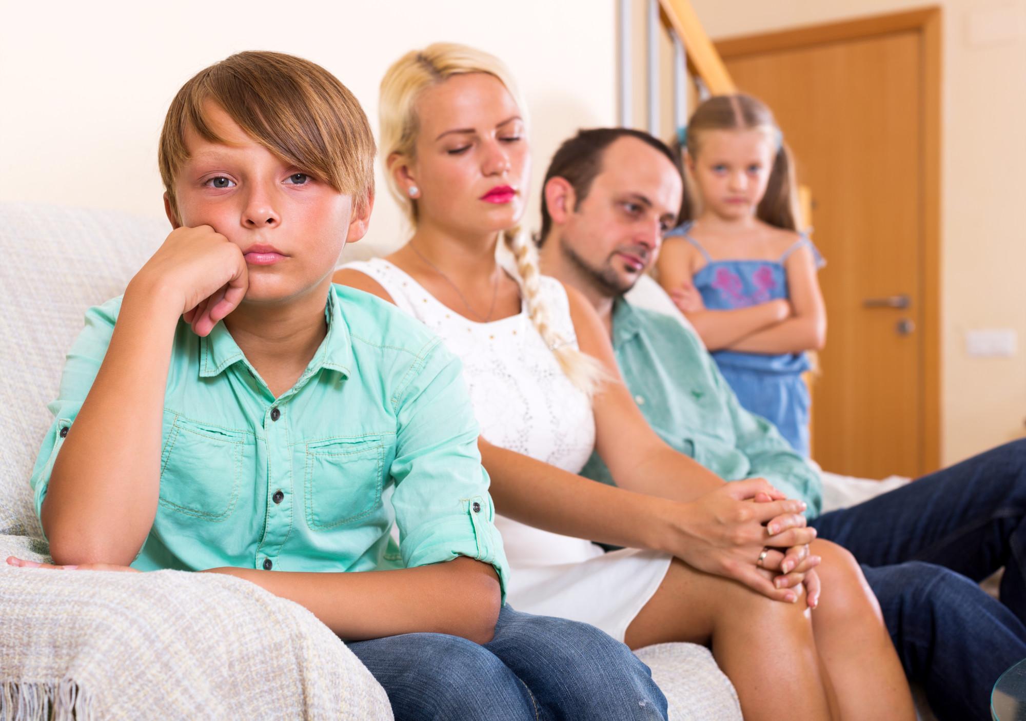 Parental divorce
